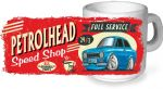 Koolart PERTOLHEAD SPEED SHOP Design For Retro Mk1 Ford Escort RS Mexico Ceramic Tea Or Coffee Mug